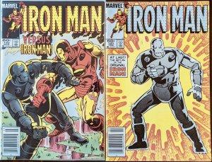 Iron Man #191 & #192 (1985) DUO SET!