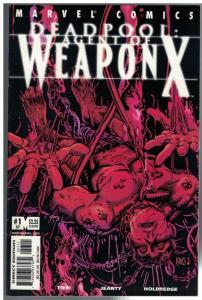 DEADPOOL (1997) 57 FN+ WEAPON X  Oct. 2001