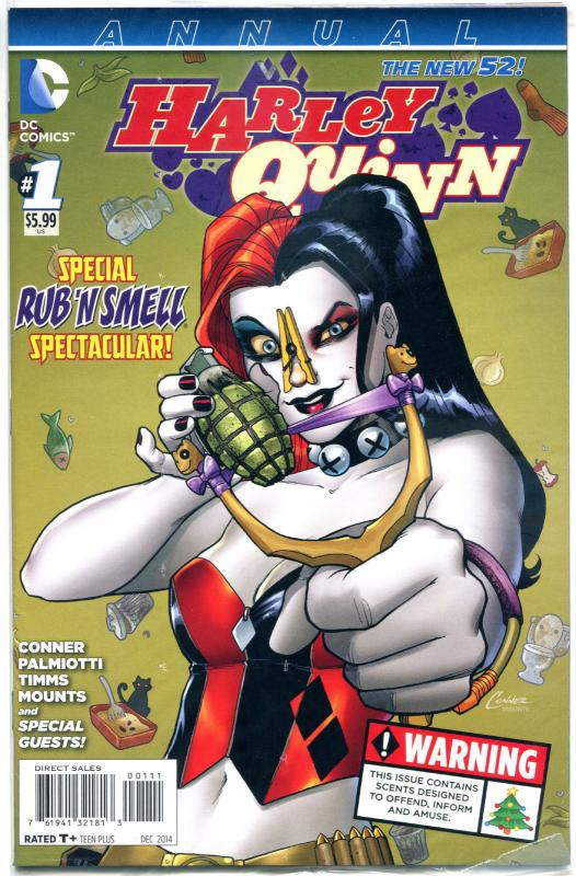 HARLEY QUINN Annual #1, NM, Amanda Conner, Palmiotti, 2014,  more HQ in store