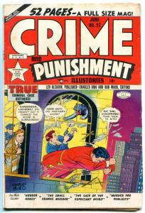 Crimes and Punishment #27 1950- Golden Age- Fred Guardineer VG