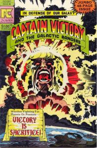 Captain Victory and the Galactic Rangers #6 FN; Pacific   save on shipping - det