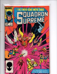 Marvel Comics (1985) Squadron Supreme #1 Hyperion Nighthawk Dr. Spectrum Whizzer