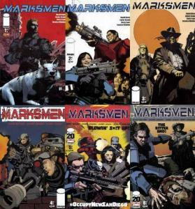 MARKSMEN (2011 IM) 1-6  the COMPLETE series!