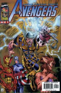 Avengers (Vol. 2) #9 VF/NM; Marvel   save on shipping - details inside