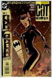 CATWOMAN #34, NM+, Mr Freeze, Ed Brubaker, Femme Fatale, 2002, more in store