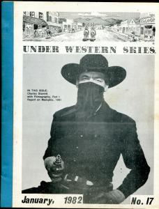 Under Western Skies #17 1/1982-Charles Starrett-Duranfo Kid-B-Westerns-VG