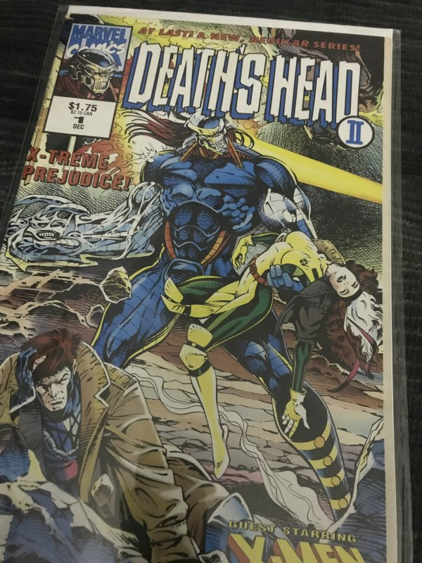 Marvel Deaths Heads #1 Mint