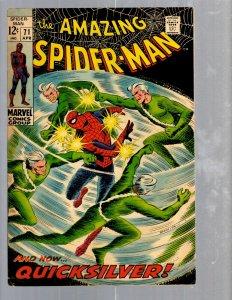 Amazing Spider-Man # 71 VF Marvel Comic Book MJ Vulture Goblin Scorpion TJ1