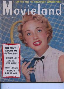 Movieland-Jane Powell-Tony Curtis-Glenn Ford-William Holden-Sept-1956