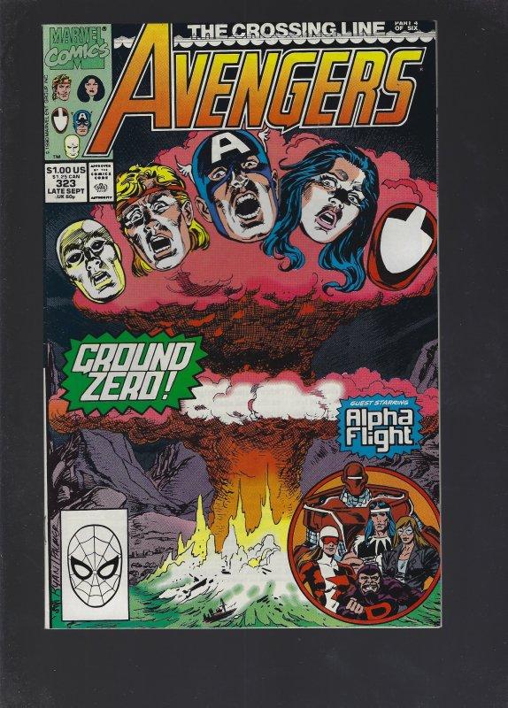 The Avengers #323 (1990)
