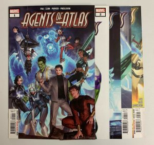 Agents Of Atlas #1-5 (Marvel 2019) 1 2 3 4 5 Greg Pak Jeff Parker (9.2+)
