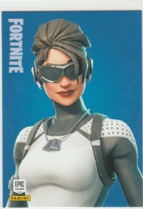 Fortnite Arctic Assassin 154 Rare Outfit Panini 2019 trading card series 1
