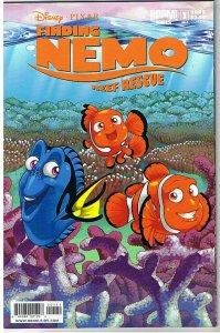 FINDING NEMO REEF RESCUE #1, NM, Disney, Pixar, 2009, Fish, more in store