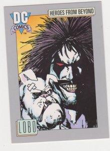 1991 DC Cosmic Card #120 Lobo