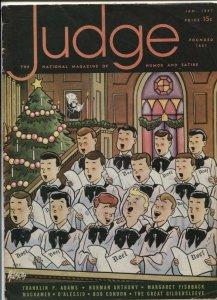 Judge Magazine January 1947- Great Gildersleeve- Bob Condon