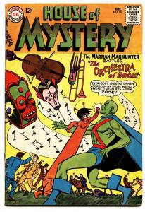 HOUSE OF MYSTERY #147 comic book -MANHUNTER FROM MARS-DC fn-