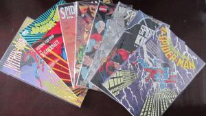 Spider-Man lot 8 different books from 8.0 VF to NM