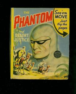 THE PHANTOM AND DESERT JUSTICE-#1421-BIG LITTLE BOOKS-1941-vf VF