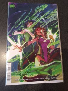 ​JUSTICE LEAGUE ODYSSEY #6 VIRGIN VARIANT DC COMICS 1ST PRINT NM