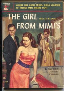Carnival Books #909 1952-Hanro-Girl From Mimi's-Joan Taylor-GGA-FN+