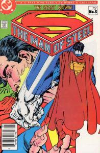 Man of Steel, The (Mini-Series) #5 VF/NM; DC | save on shipping - details inside