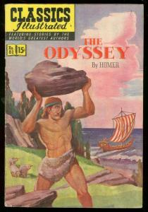 CLASSICS ILLUSTRATED #81 HRN 82-ODYSSEY-HOMER-15 CENT FN+