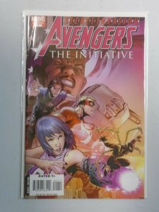 Avengers The Initiative Annual #1 6.0 FN (2008)