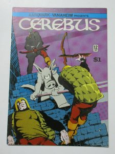Cerebus the Aardvark (A Vanaheim Oct Nov 1979) #12 Dave Sim 1st Printing!