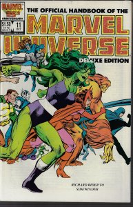 Marvel Universe Deluxe Edition #11 (Marvel, 1986) NM