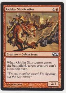 Magic the Gathering: Magic 2014 - Goblin Shortcutter