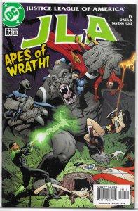 JLA (vol. 1, 1997) # 92 VF/NM (Extinction 2) O'Neil/Huat, Plastic Man