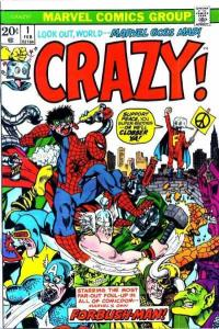 Crazy (1973 series) #1, VF (Stock photo)