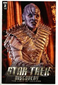 Star Trek Discovery #2 Cvr B (IDW, 2018) NM
