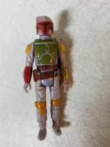 Boba Fett W/Gun Complete Kenner Action Figure Star Wars 1979 Empire TWT1