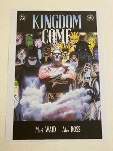 Kingdom Come #3 DC Comics poster by Alex Ross