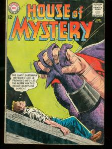 HOUSE OF MYSTERY #140 1964 DC COMICS RETURN OF ASTRO VG