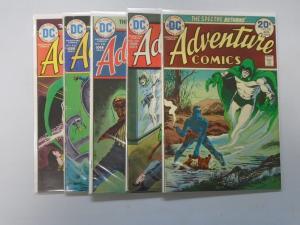 Spectre Adventure Comics  - see pics - average 6.0 - years vary
