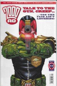 2000 AD #1275 FN Judge Dredd, Shakara, Storming Heaven, Bad Company