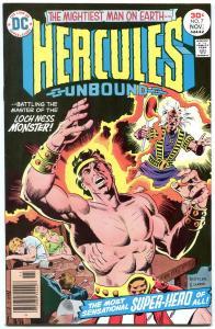 HERCULES UNBOUND #7 1976-WALLY WOOD-NEAL ADAMS nm-