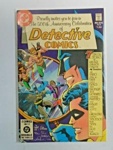 Detective Comics #500 1st Series 6.0 FN (1981)