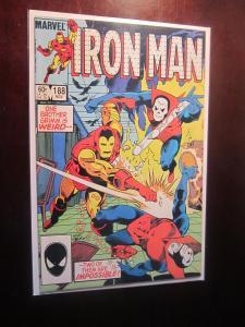 Iron Man (1968 1st Series) #188 - VF - 1984 - DIR