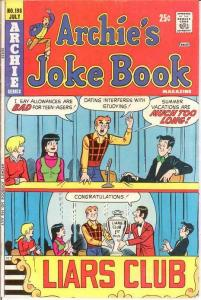 ARCHIES JOKE BOOK (1954-1982)198 VG-F July 1974 COMICS BOOK