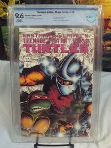 Teenage Mutant Ninja Turtles #10 - CBCS 9.6 - 2nd App. of The Shredder