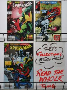 SPIDERMAN (1990) 41-43 STORM WARNINGS IRON FIST