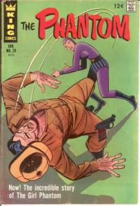 PHANTOM (1962-1977) 20 VG-F Jan. 1967 COMICS BOOK