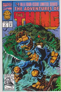 The Adventures of the Thing #4 (1992)