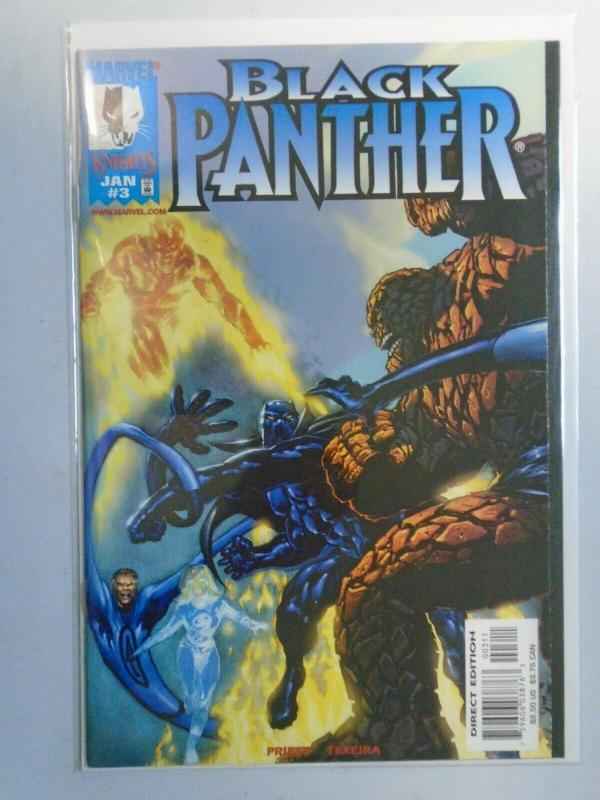 Black Panther #3 8.0 VF (1999 2nd Series)