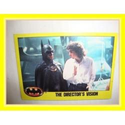 1989 Batman The Movie Series 2 Topps THE DIRECTOR'S VISION #235 EX