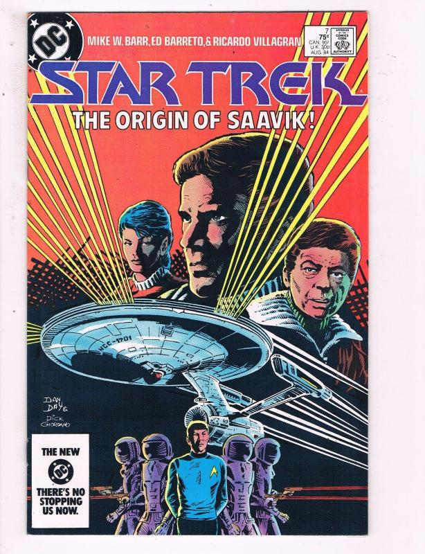Star Trek #7 VF DC Comics The Origin Of Saavik Comic Book Barr 1984 DE13