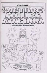 Action Figure Kingdom #4 FN; Steve Conte   save on shipping - details inside